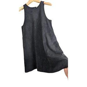 Aritzia Wilfred Trompette Vegan Faux Suede Dress